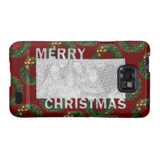 Las Felices Navidad cortaron las guirnaldas del Samsung Galaxy S2 Carcasas