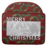 Las Felices Navidad cortaron las guirnaldas del ma Funda Para Macbook Pro