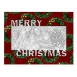Las Felices Navidad cortaron las guirnaldas del ma Tarjetas Postales