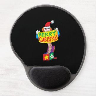 Las Felices Navidad de encargo Jack en una caja Alfombrilla De Ratón Con Gel