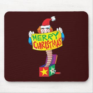 Las Felices Navidad de encargo Jack en una caja Alfombrilla De Raton