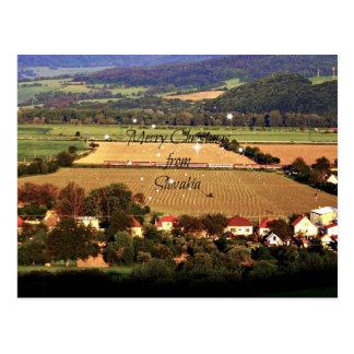 Las Felices Navidad de Eslovaquia crean para Tarjetas Postales