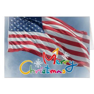 Las Felices Navidad desplegaron la tarjeta del día