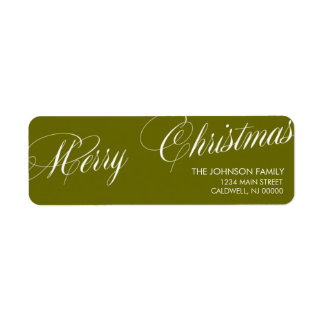 Las Felices Navidad etiquetan días de fiesta del | Etiqueta De Remite