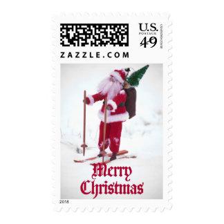 Las Felices Navidad - juegue a Papá Noel en los Sello Postal