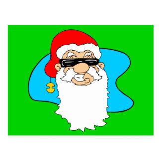 Las Felices Navidad refrescan Santa en gafas de Postal