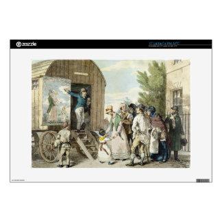 Las ferias: La demostración, c.1821 (litho del col Portátil 38,1cm Skins