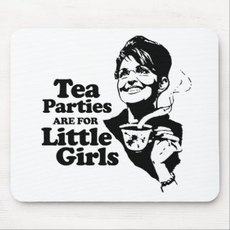 Las fiestas del té están para las niñas - .png tapetes de ratón