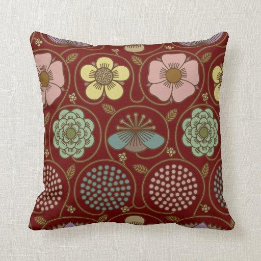 """Las flores abstractas """"cómo"""" modificar para requis almohadas"""