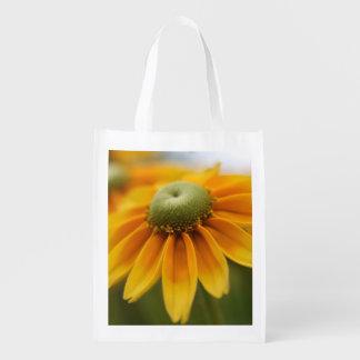 Las flores bolsa de compra bolsas reutilizables