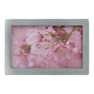 Las flores de cerezo de Sakura palidecen - Hebilla De Cinturón Rectangular