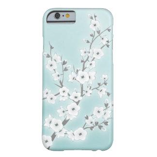 Las flores de cerezo florales acuñan blanco funda para iPhone 6 barely there