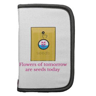 Las flores de la mañana son ven planificadores