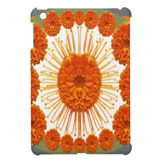 Las flores de la MARAVILLA - case el oro iPad Mini Fundas