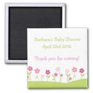 Las flores de la primavera le agradecen imán -