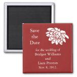 Las flores de Lotus ahorran el imán de la fecha (r