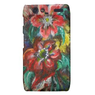 Las flores de Sophia Motorola Droid RAZR Carcasa