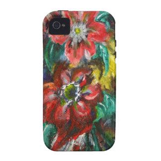 Las flores de Sophia iPhone 4/4S Carcasas