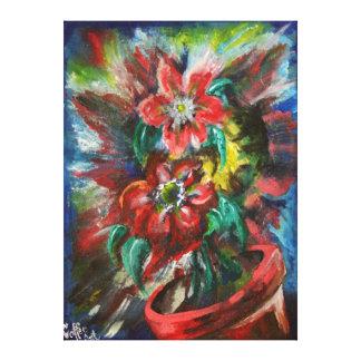 Las flores de Sophia Lienzo Envuelto Para Galerias
