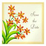 Las flores del lirio del caramelo ahorran la fecha comunicados