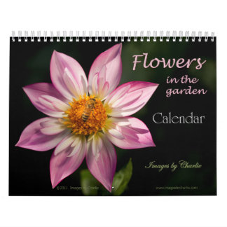 Las flores hacen calendarios 2012 (véase el