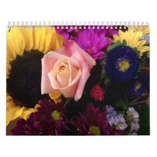 Las flores hacen calendarios para 2013