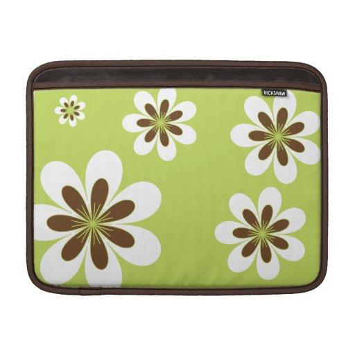 Las flores más dulces funda  MacBook