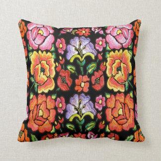 Las flores mexicanas del estilo, corrigen color de cojín