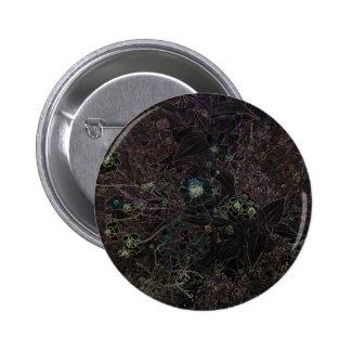 Las flores negras elegantes y las hierbas salvajes pins