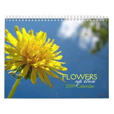 Las flores para arriba cierran el calendario