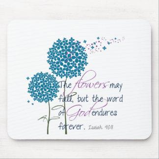 Las flores pueden caer… mousepads
