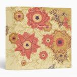 Las flores rojas de la amapola del oro del vintage