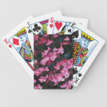 Las flores rosadas del árbol de Dogwood Barajas De Cartas