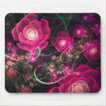 Las flores rosadas lo dicen el mejor Mousepad Tapetes De Raton