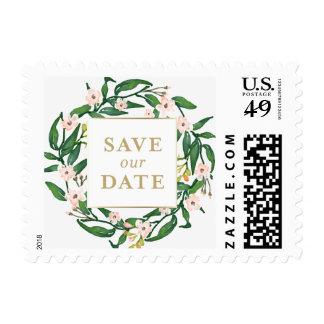 Las flores salvajes le agradecen timbres postales