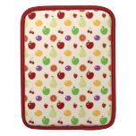 Las frutas con sabor a fruta deliciosas rematan la fundas para iPads