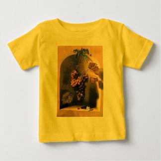 Las FRUTAS de la ESTACIÓN - verde amarillo marrón Playeras