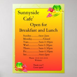 Las fuentes del restaurante abren la muestra Sunny Posters