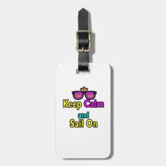 Las gafas de sol de la corona de la parodia guarda etiquetas de maletas