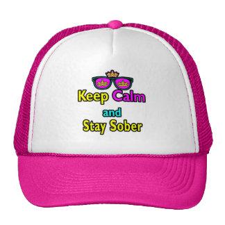 Las gafas de sol de la corona de la parodia guarda gorra