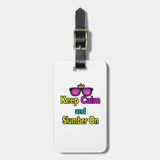 Las gafas de sol de la corona del inconformista gu etiquetas maleta