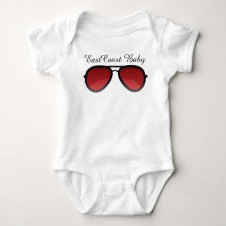 Las gafas de sol del bebé de la costa este polera