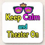 Las gafas de sol guardan calma y el teatro encendi posavasos