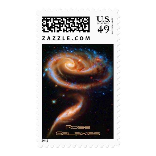 Las galaxias color de rosa, Arp 273 Estampilla