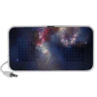 Las galaxias de las antenas mini altavoces