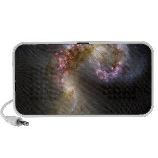 Las galaxias de las antenas mp3 altavoces