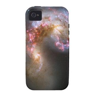 Las galaxias de las antenas Case-Mate iPhone 4 carcasa