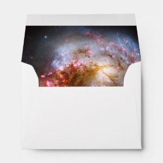 Las galaxias de las antenas sobre