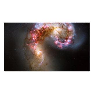 Las galaxias de las antenas tarjetas de visita