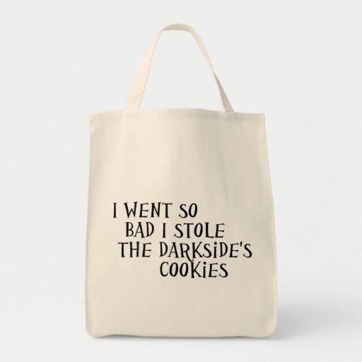 Las galletas de Darkside Bolsa Tela Para La Compra